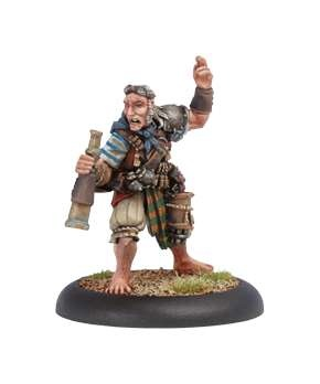 Mercenary Privateer Master Gunner Dougal MacNaile