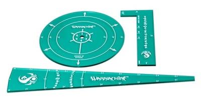 WARMACHINE Scyrah Template Set (acrylic)
