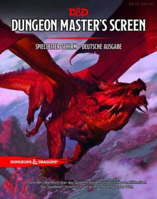 D&D Dungeon Master's Screen - Deutsche Ausgabe