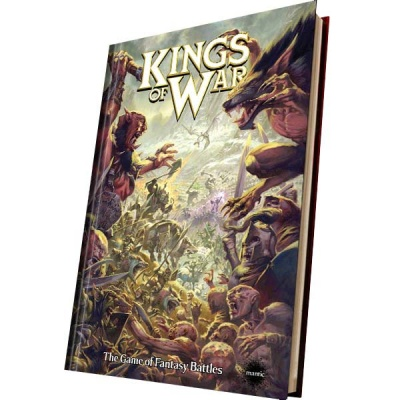 Kings of War 2nd Edition Rulebook (Englisch)