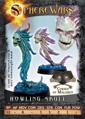 Howling Skull (2)