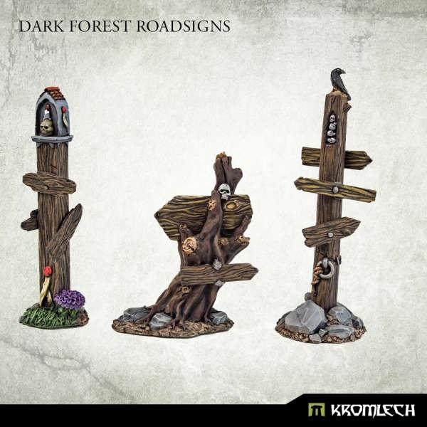 Dark Forest Road Signs (3)