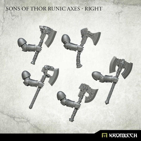 Sons of Thor Runic Axes - Right (5)