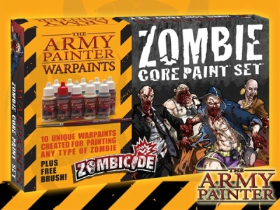 ZOMBICIDE Core Paintset