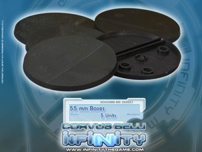 Infinity 55mm Bases (5)