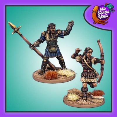 Amazon Archer & Spearwoman (2)