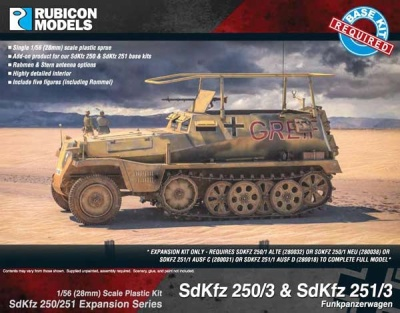 SdKfz 250/251 Expansion - 250/3 & 251/3 Communications