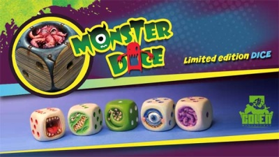 Monster Dice (painted, lim)