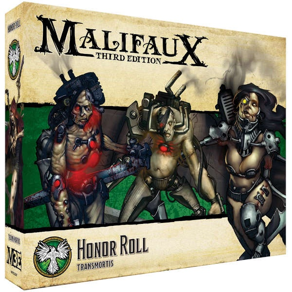 Malifaux (M3E): Honor Roll