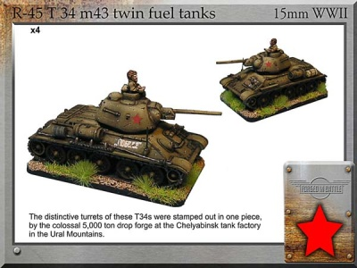 T-34 m43 twin fuel tanks (4)