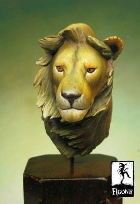 Buste Lion
