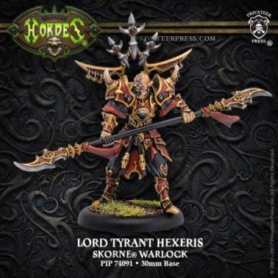 Skorne Lord Tyrant Hexeris