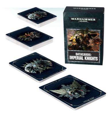 Datakarten: Imperial Knights ENGLISCH