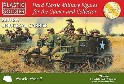 Easy Assembly 1/72nd British Universal Carrier (3)