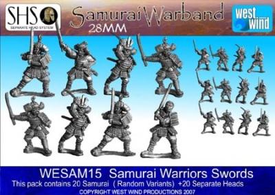 Samurai Warriors (20 Figures)