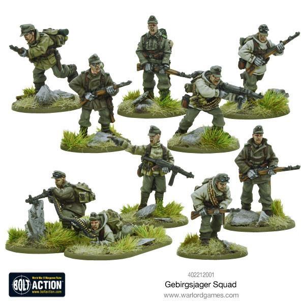 Gebirgsjager squad