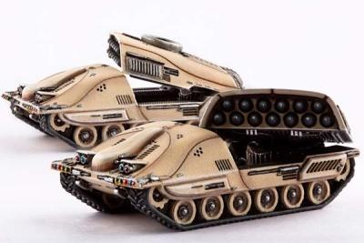 PHR: Taranis MLRS Battery (2)