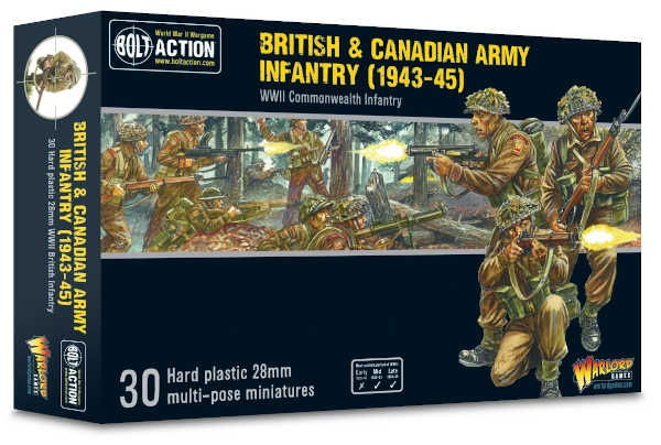 British & Canadian Army Infantry (1943-45)