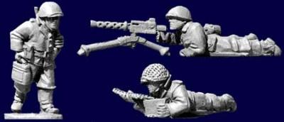 U.S. Inf. .30cal team (1 gun 3 crew)