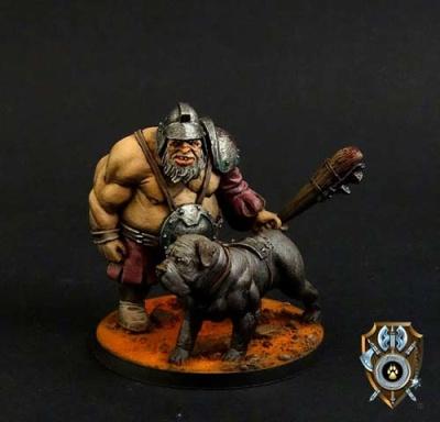 Talliareum Mercenary Ogre Mansion Keeper