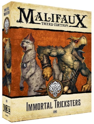 Malifaux (M3E): Immortal Tricksters