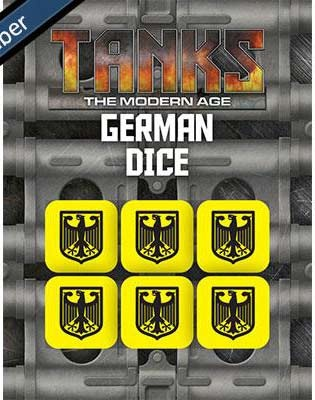 Modern German Dice Set (6)