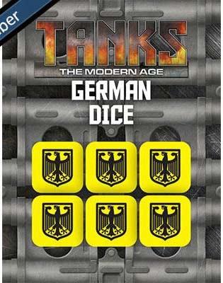 Modern German Dice Set (6)