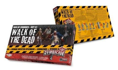 Zombicide: Box of Zombies Set # 1 - Walk of the Dead (24)