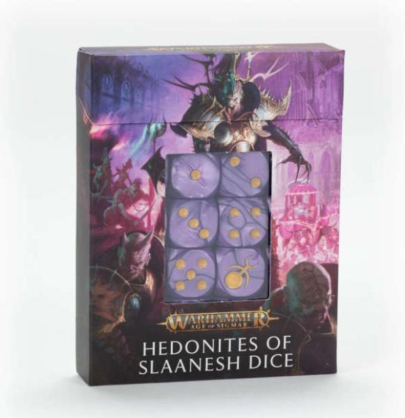 Hedonites of Slaanesh Dice Set