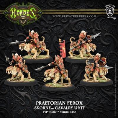 Skorne Cavalry Unit Praetorian Ferox (5)