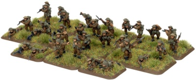 British Infantry Platoon