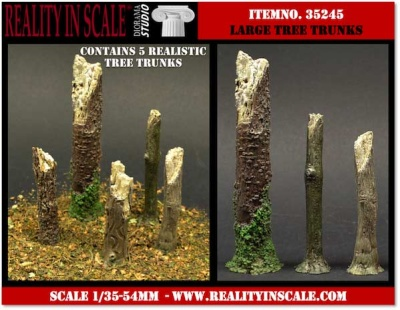 Tree Trunks - large (5)