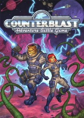 Counterblast Adventure Battle Game Core Rulebook