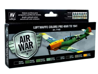 Model Air Set Luftwaffe Pre-War to 1941 (8)