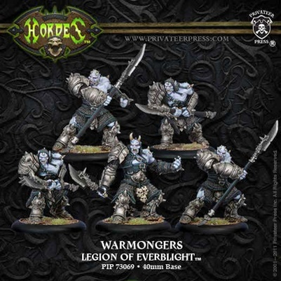 Legion of Everblight Blighted Ogrun Warmonger Unit Box (5)