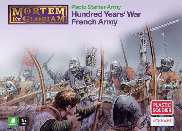 Mortem et Gloriam Hundred Years' War French Army Starter