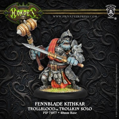 Trollblood Fennblade Kithkar, Solo (1)