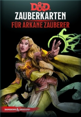 D&D: Zauberkarten für arkane Zauberer