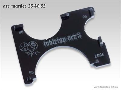 Arc-Marker 25-40-55 - Schwarz