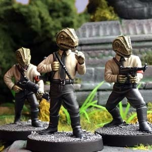 Danger 5: Lizard Nazi Soldiers (3)