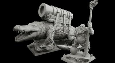 Bloodsail Island Gator Cannon