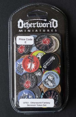 Otherworld Fantasy Skirmish Token Set  (54)