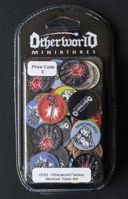 Otherworld Fantasy Skirmish Token Set  (54)