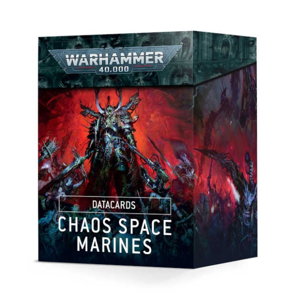 Datakarten: Chaos Space Marines (2019)