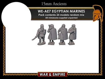 Early Persian, Egyptian Marines