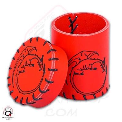 Würfelbecher: Dragon Red