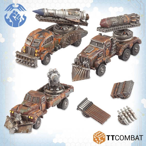 Storm Artillery Wagons