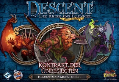 Descent 2. Edition: Kontrakt der Unbesie: Helden-und Monster