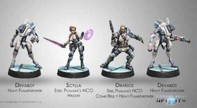 Drakios & Scylla, Steel Phalanx's NCO (AL)