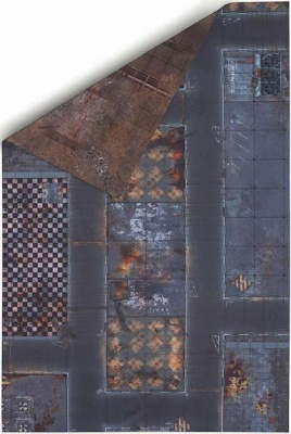 6'x4' Double Sided G-Mat: Quarantine Zone and Wastelands